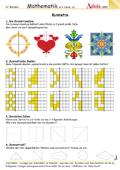book symmetrische figuren erkennen zeichnen klasse