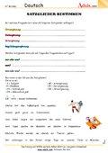 satzglieder arbeitsbl228tter deutsch grammatik