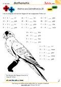 gemischte Aufgaben - einfache Übungen - Arbeitsblätter | Mathematik ...