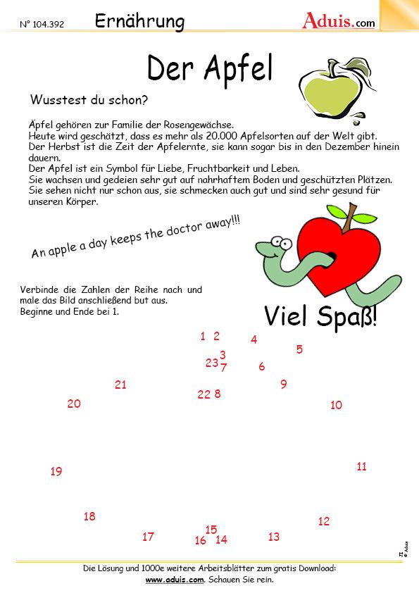 Arbeitsblätter Kita Obst : Gemüse früchte obst arbeitsblätter ernährung haushalt