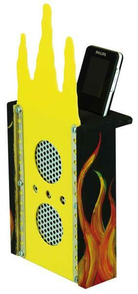MP3 Sound Box - Stereo in Kunststoff