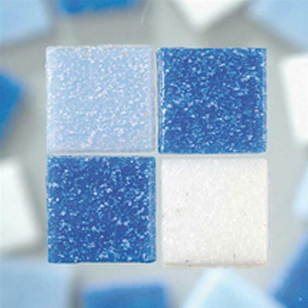 Mosaik glassteine 200 g blaumix kreatives gestalten mosaiksteine und zubeh r - Mosaiksteine spiegel ...