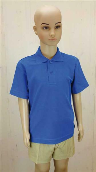 polo shirt kinder blau xs online kaufen aduis. Black Bedroom Furniture Sets. Home Design Ideas