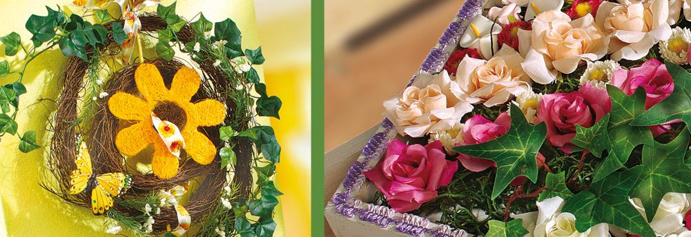 bastelbedarf floristik deko